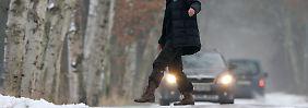 Minus 30 Grad im Erzgebirge: Straßen werden spiegelglatt
