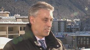 """Post-Chef Frank Appel in Davos: """"Was an den Märkten passiert, ist eine Übertreibung"""""""