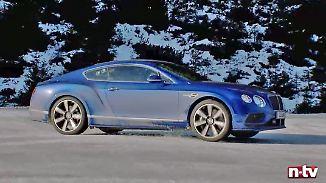 2,5 Tonnen pure Gewalt: Tim Schrick geht mit Bentley in die Drift