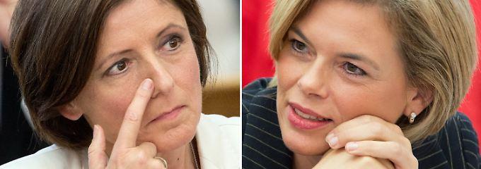 """Die rheinland-pfälzische Ministerpräsidentin Malu Dreyer und CDU-Kandidatin Julia Klöckner haben laut SWR zweimal das """"journalistische Konzept zerschossen""""."""