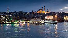 Die Blaue Moschee in Istanbul. Foto: Peter Kneffel