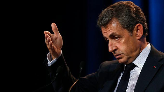 Sarkozy will wieder Präsident werden. Allerdings sprechen die aktuellen Umfragen eher gegen ihn.