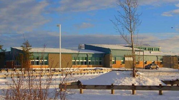Die Schule von La Loche in einem undatierten Foto: Hier starben mindestens fünf Menschen.