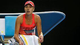 Die Partie Ana Ivanovic wurde für 25 Minuten unterbrochen.