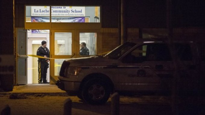 Unter den Opfern sind Schüler und Lehrer der High School.