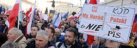 """""""Wir sind keine Revolutionäre"""": Zehntausende gehen in Polen auf die Straße"""