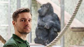 Ruben Gralki ist gern Tierpfleger.