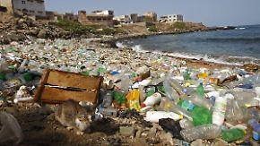 150 Mio Tonnen Kunststoff im Ozean: Barrieren sollen Plastikmüll aus dem Meer fischen