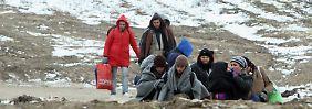 Acht Stunden bei drei Grad: Flüchtlinge in Kühllaster geschmuggelt