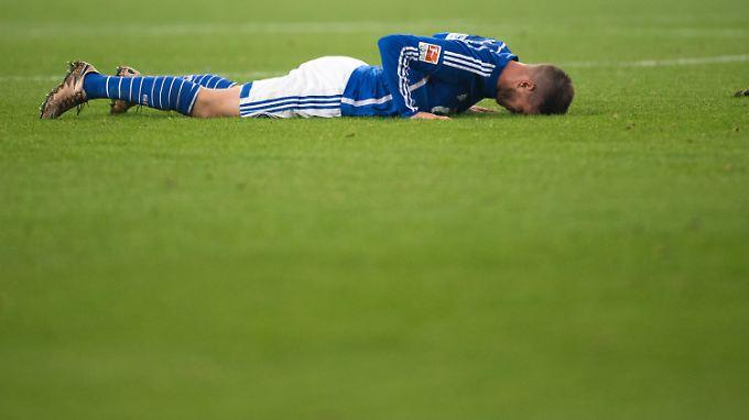 Schalke verlor trotz großer Überlegenheit gegen Werder Bremen. Auch deshalb, weil Klaas-Jan Huntelaar beim Stand von 1:0 beste Chancen ausließ.