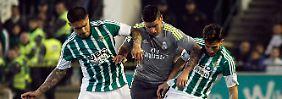 + Fußball, Transfers, Gerüchte +: Betis Sevilla entzaubert Zidanes Real