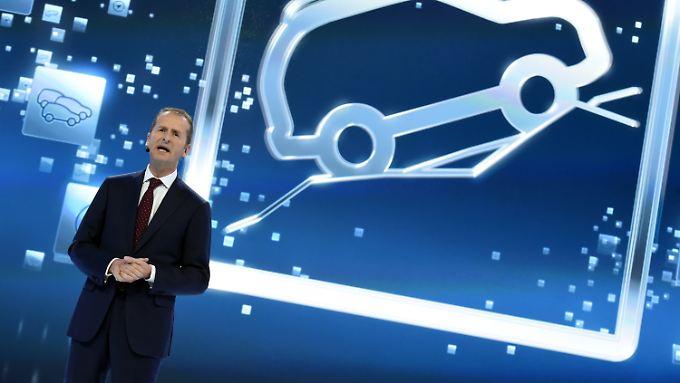 Herbert Diess woll die Produktivität bei der Marke VW um 10 Prozent steigern.