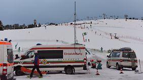 Anfängerbereich am Feldberg: Zwei Männer sterben bei Skiunfall im Schwarzwald
