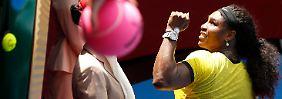 Scharapowa ohne Chance in Melbourne: Williams macht es nur kurz spannend