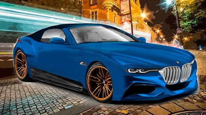 So stellen sich die spanischen Kollegen von motor.es den neuen BMW Z5 vor