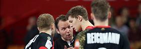 Vier Tore Unterschied nötig: Handballer wollen Dänen knacken