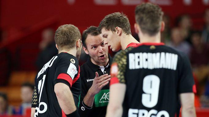 Vier Tore Unterschied nötig: Handballer wollen Dänen trotz Verletzungspech knacken