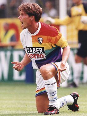 Alter! Dariusz Wosz im Jahr 1997.