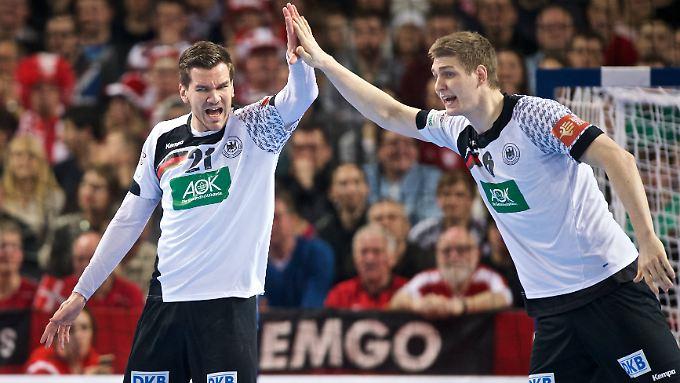 Nach vier Spielen in Folge haben die deutschen Handballer eine große Chance auf das EM-Halbfinale.