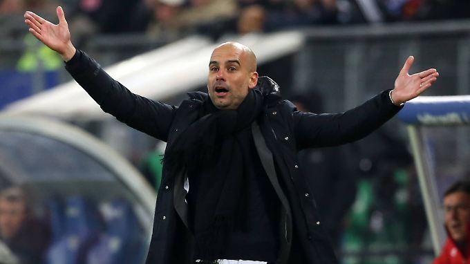 Liegt es am Training von Coach Josep Guardiola, dass den Bayern-Profis ständig die Muskeln kaputtgehen? No, sagt der Spanier.