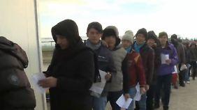 Einreise nur für Iraker, Syrer und Afghanen: Mazedonien sortiert Flüchtlinge nach Nationalität