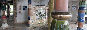 Friedensreichtoilette in Neuseeland: Schöner pinkeln mit Hundertwasser
