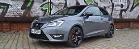 Der Seat Ibiza Cupra gehört in seiner Klasse zu den am dynamisch gezeichnetesten Sportlern.