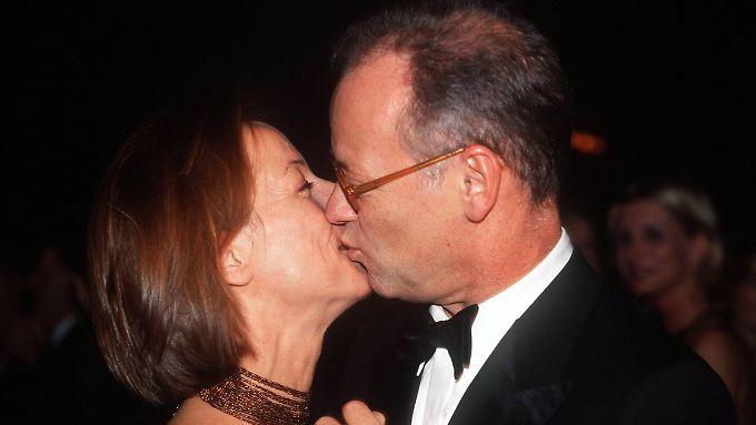 Ein Bild aus glücklicheren Tagen: Rudolf Scharping und Kristina von Pilati 2000 beim Sportpresseball.