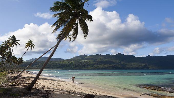 Playa Rincon auf der Halbinsel Samana.