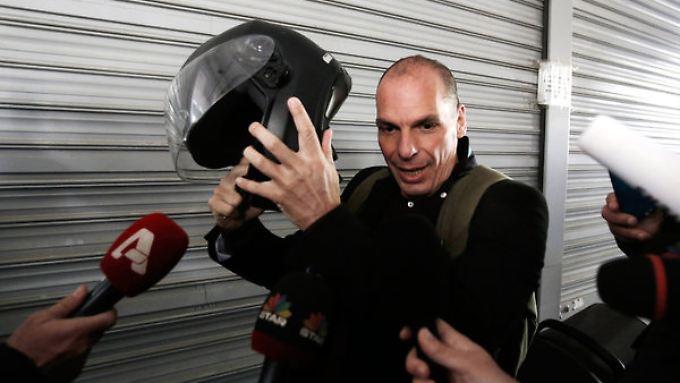 Der Auftritt bemerkenswert, die Performance eher bescheiden: Yanis Varoufakis.