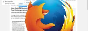 Update beendet Tab-Chaos: Firefox 44 verbessert Push-Nachrichten