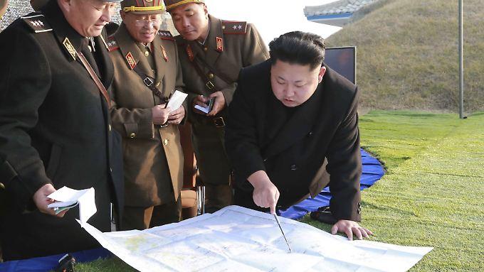 Eine Langstreckenrakete hatte Nordkorea zuletzt 2012 abgeschossen und damit einen internationalen Proteststurm ausgelöst.
