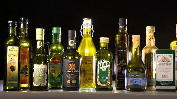 """Unappetitliche Inhaltsstoffe: 13 getestete Olivenöle sind """"mangelhaft"""""""