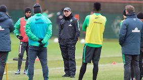 Viktor Skripnik darf mit Gerhard Tremmel bald ein neues Gesicht im Training begrüßen.