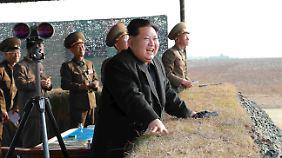 Machthaber Kim Jong-un