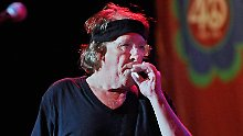 Paul Kantner 2009 beim Auftritt bei einem Woodstock-Revival: Der Gitarrist lebte seinen Traum bis zuletzt.