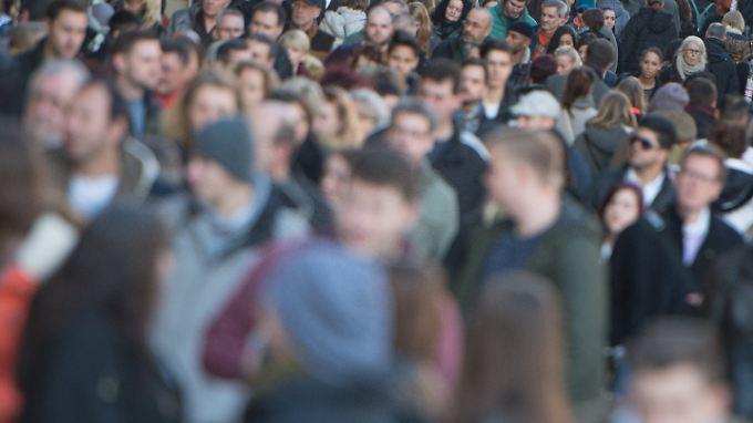 Die Bevölkerung ist 2015 so stark gewachsen wie zuletzt vor mehr als 20 Jahren.