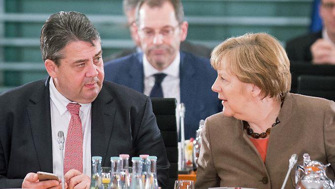Gabriel und Merkel einigen sich auf das Asylpaket II.