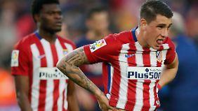 Atlético Madrid verliert gegen Tabellenführer Barcelona.