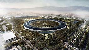"Apples ""Raumschiff"" nahezu fertig: High-Tech-Giganten verschönern ihre Firmenzentralen"