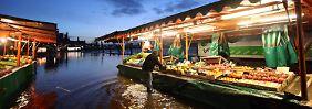 Schwerer Sturm in Hansestadt: Orkan flutet Hamburger Fischmarkt