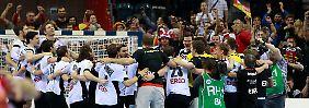 Favorit Spanien deklassiert: Deutsche Handballer sind Europameister