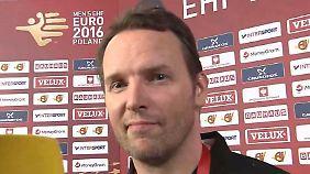 """DHB-Trainer Sigurdsson im Interview: """"Unsere Aufgabe wird es sein, hungrig zu bleiben"""""""