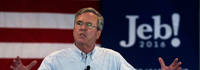Jeb Bush hatte bei den Vorwahlen keine Chance.