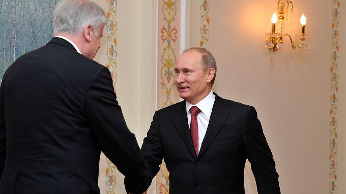 Seehofer traf Putin bereits im Frühjahr 2011 in Moskau.