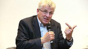 Karl-Georg Wellmann sitzt seit 2005 für die CDU im Bundestag, er ist Mitglied im Auswärtigen Ausschuss.
