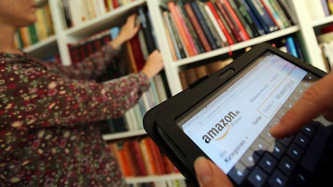Plant Amazon Hunderte Buchläden?