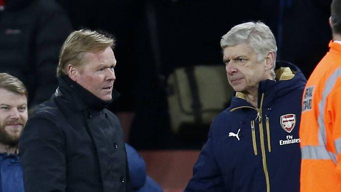 Ronald Koeman kritisiert Arsene Wenger für dessen Schiedsrichter-Kritik.