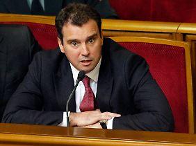 Der zurückgetretene Wirtschaftsminister Aivaras Abromavicius.