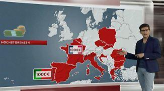 n-tv Netzreporter: Diese Länder haben bereits Bargeld-Obergrenzen
